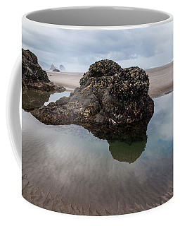 Tolovana Beach At Low Tide Coffee Mug