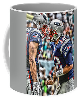 Tom Brady Art 4 Coffee Mug