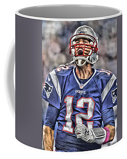 Tom Brady Art 5 Coffee Mug