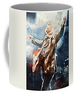 Tom Petty - Watercolor Portrait 13 Coffee Mug