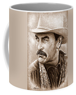 Tom Selleck The Western Collection Coffee Mug