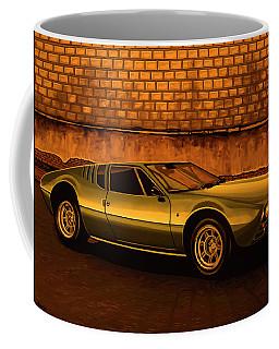 Tomaso Mangusta Mixed Media Coffee Mug