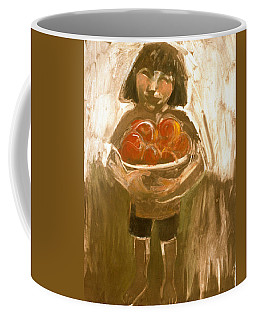 Tomato Girl Coffee Mug