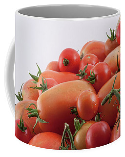 Coffee Mug featuring the photograph Tomato Hill by James BO Insogna