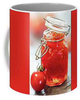 Tomato Jam In Glass Jar Coffee Mug