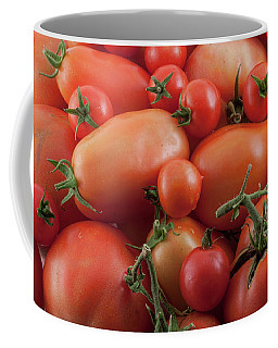 Coffee Mug featuring the photograph Tomato Mix by James BO Insogna