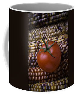 Tomato On Indian Corn Coffee Mug