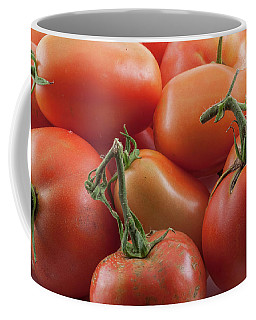 Coffee Mug featuring the photograph Tomato Stems by James BO Insogna