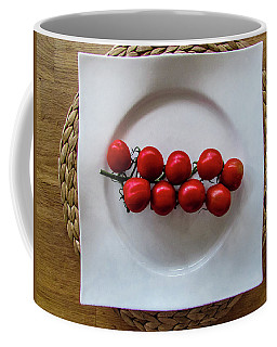 Tomatoes Coffee Mug by Cesar Vieira