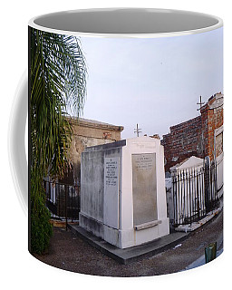 Tombs In St. Louis Cemetery Coffee Mug