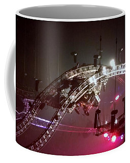Tommy Lee Motley Crue Farewell Tour Brooklyn N Y 2015 Or Flying Drums Coffee Mug