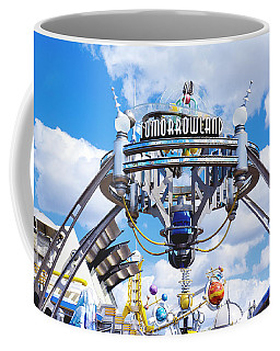 Coffee Mug featuring the photograph Tomorrowland by Greg Fortier