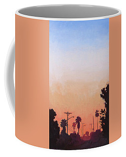 Tonal Hollywood Coffee Mug by Andrew Danielsen