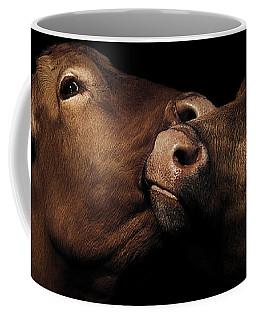 Toned Down Bovine Affection Coffee Mug