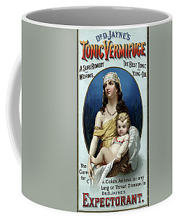 Coffee Mug featuring the photograph Tonic Vermifuge Patent Medicine 1889 by Daniel Hagerman