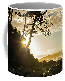 Coffee Mug featuring the photograph Tonquin Beach by Crystal Hoeveler