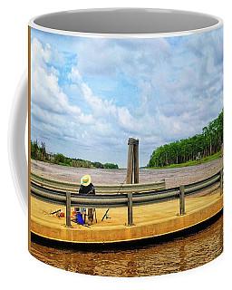 Too Hot To Fish Coffee Mug