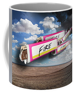 Too Lazy For Friction Coffee Mug by Steve Sperry