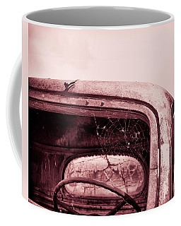 Coffee Mug featuring the photograph Too Old To Drive by Mary Hone