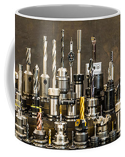 Toolmakers Cutting Tools Coffee Mug by Paul Freidlund