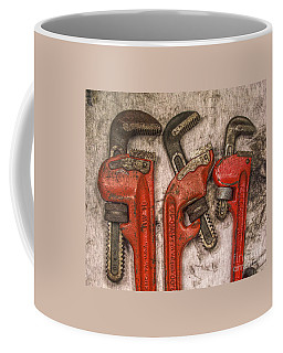 Tools Of The Trade Still Life Coffee Mug by Randy Steele