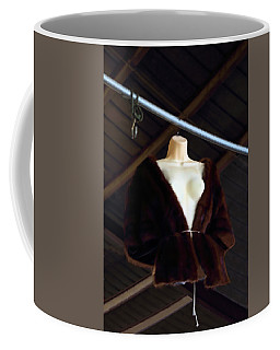Coffee Mug featuring the photograph Top Fur Coat by Viktor Savchenko