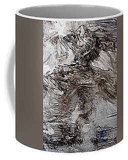 Coffee Mug featuring the painting Top Knotch by Nancy Kane Chapman
