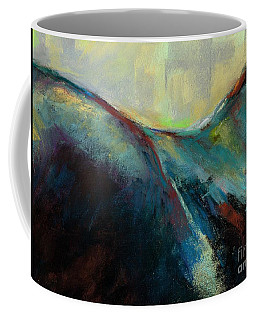 Top Line Coffee Mug by Frances Marino