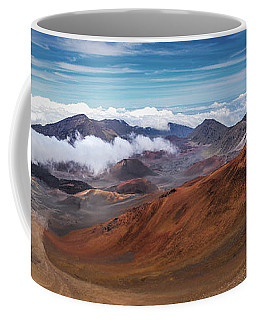 Top Of Haleakala Crater Coffee Mug