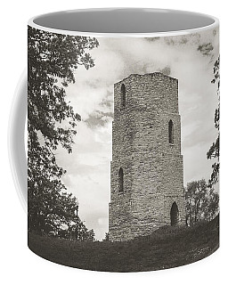 Coffee Mug featuring the photograph Top Of The Hill by Viviana  Nadowski