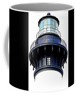 Top Of The Lighthouse Coffee Mug by Shelia Kempf