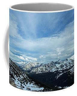 Top Of The Rockies Coffee Mug