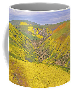 Coffee Mug featuring the photograph Top Of The Temblor Range by Marc Crumpler