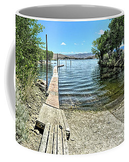 Topaz Landing Boat Launch Coffee Mug