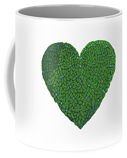 Topiary Heart Coffee Mug