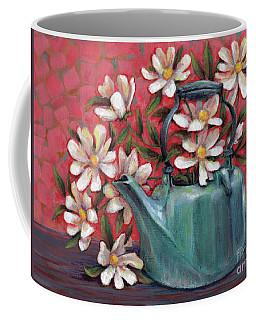 Topless With Daisies Coffee Mug