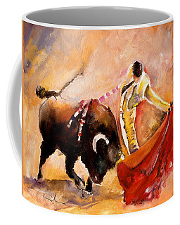 Toro Acuarela Coffee Mug