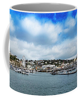 Coffee Mug featuring the photograph Torquay Devon by Scott Carruthers