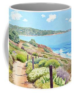 Torrey Pines And La Jolla Coffee Mug