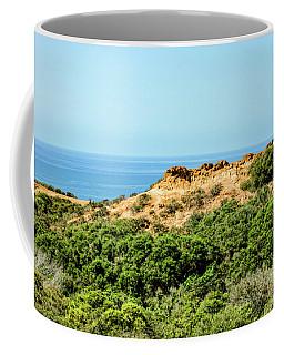Torrey Pines California - Chaparral On The Coastal Cliffs Coffee Mug