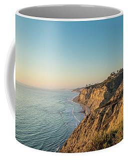 Torrey Pines Coast At Sunset Coffee Mug