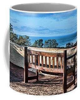 Coffee Mug featuring the photograph Torrey Pines View by Daniel Hebard