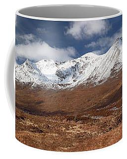 Coffee Mug featuring the photograph Torridon Panorama by Grant Glendinning