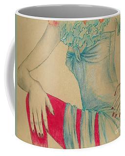 Torso In Turquoise Coffee Mug