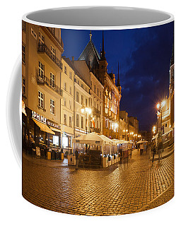 Torun Old Town Market Square At Night Coffee Mug