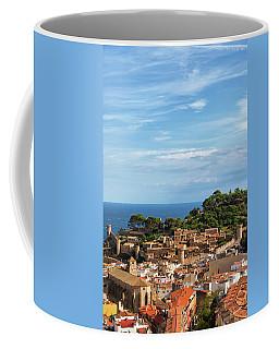 Tossa De Mar Seaside Town In Spain Coffee Mug