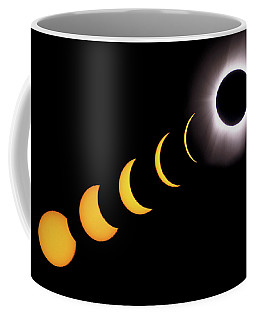 Total Eclipse Sequence, Aruba, 2/28/1998 Coffee Mug