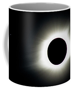Coffee Mug featuring the photograph Totality And Mercury by Randy Scherkenbach
