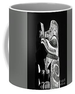 Totem Black And White Coffee Mug