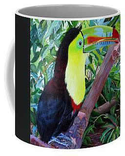 Toucan Portrait 2 Coffee Mug by Marilyn McNish